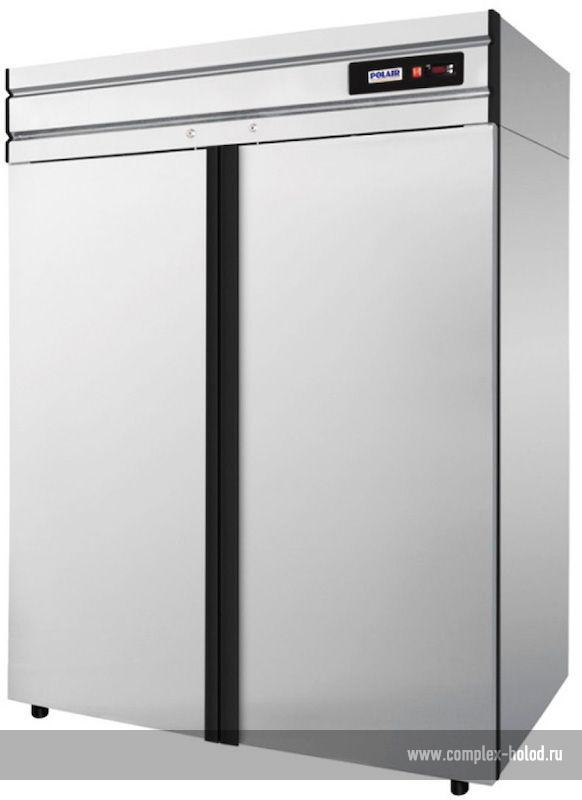 Шкаф холодильный polair cv110 g нерж